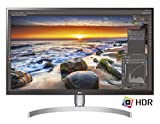 LG 27UK850 Monitor per PC Desktop 27', LED IPS UltraHD 4K HDR 10, 3840x2160, AMD FreeSync, MAXXAudio 10W, 2 HDMI, 1 Display Port