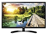 LG 32MP58HQ Monitor per PC Desktop 32' LED IPS, Full HD 1920x1080, 5ms, 60Hz, HDMI, VGA, Schermo Multitasking, Screen Split, PIP, Nero