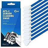 UES Telecamera sensore tampone di pulizia tipo C per APSC sensore (CCD/CMOS): la confezione include 10 x 16 mm Tamponi di pulizia
