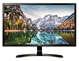 LG 24UD58-B Monitor per PC Desktop 24' 4K Ultra HD LED IPS, UHD 3840 x 2160, AMD FreeSync, Multitasking, Display Port, 2 HDMI, Nero