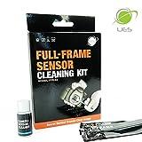 UES FFR-24 Professionale Pulizia Kit Fotocamera Detergenti liquidi sensore 15ml + 14 x Pennello per Sensori per Fotocamere a Pieno Formato DSLR Cameras Canon Nikon Pentax Sony DC516