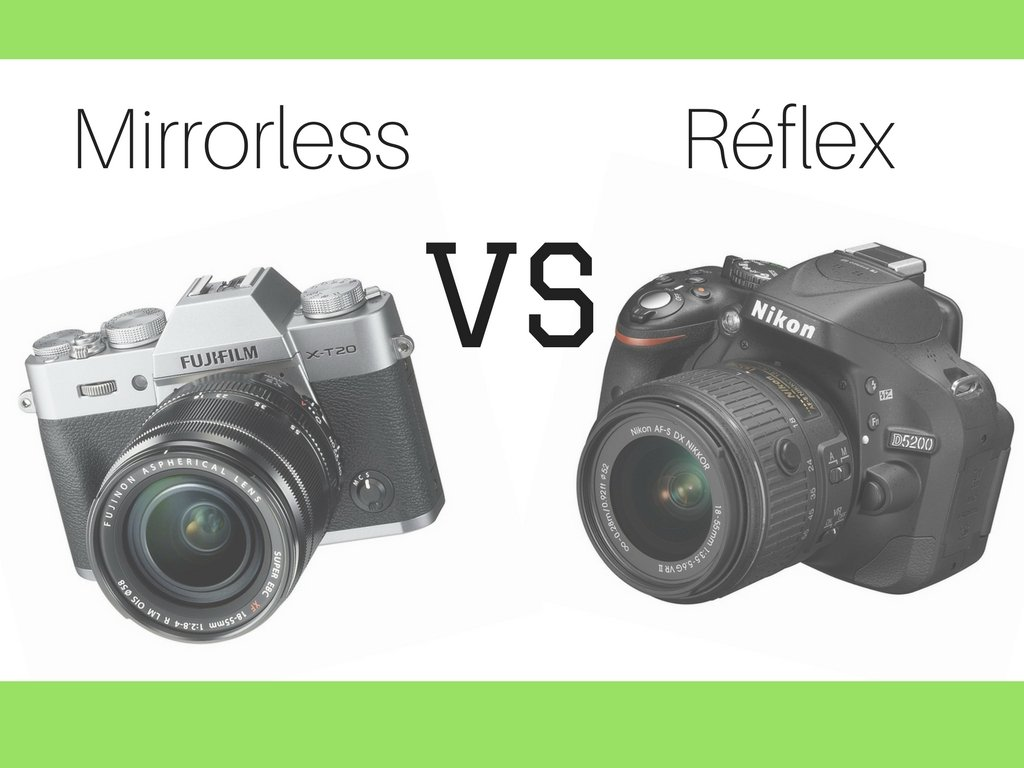 mirrorless vs reflex