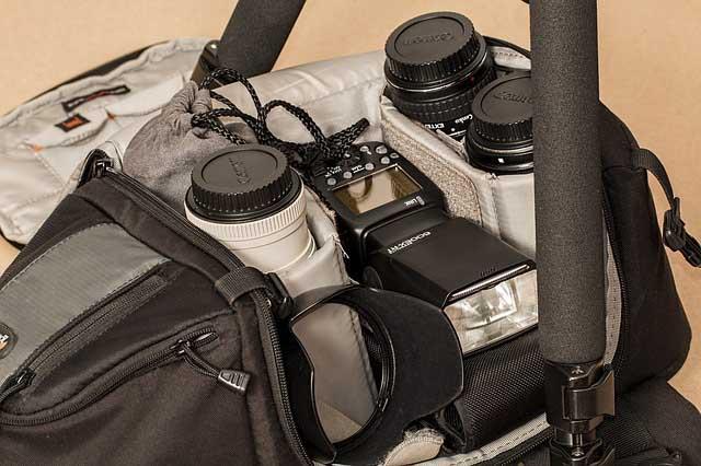 come allestire uno studio fotografico attrezzatura