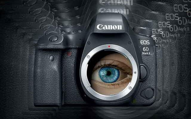 occhio umano e macchina fotografica