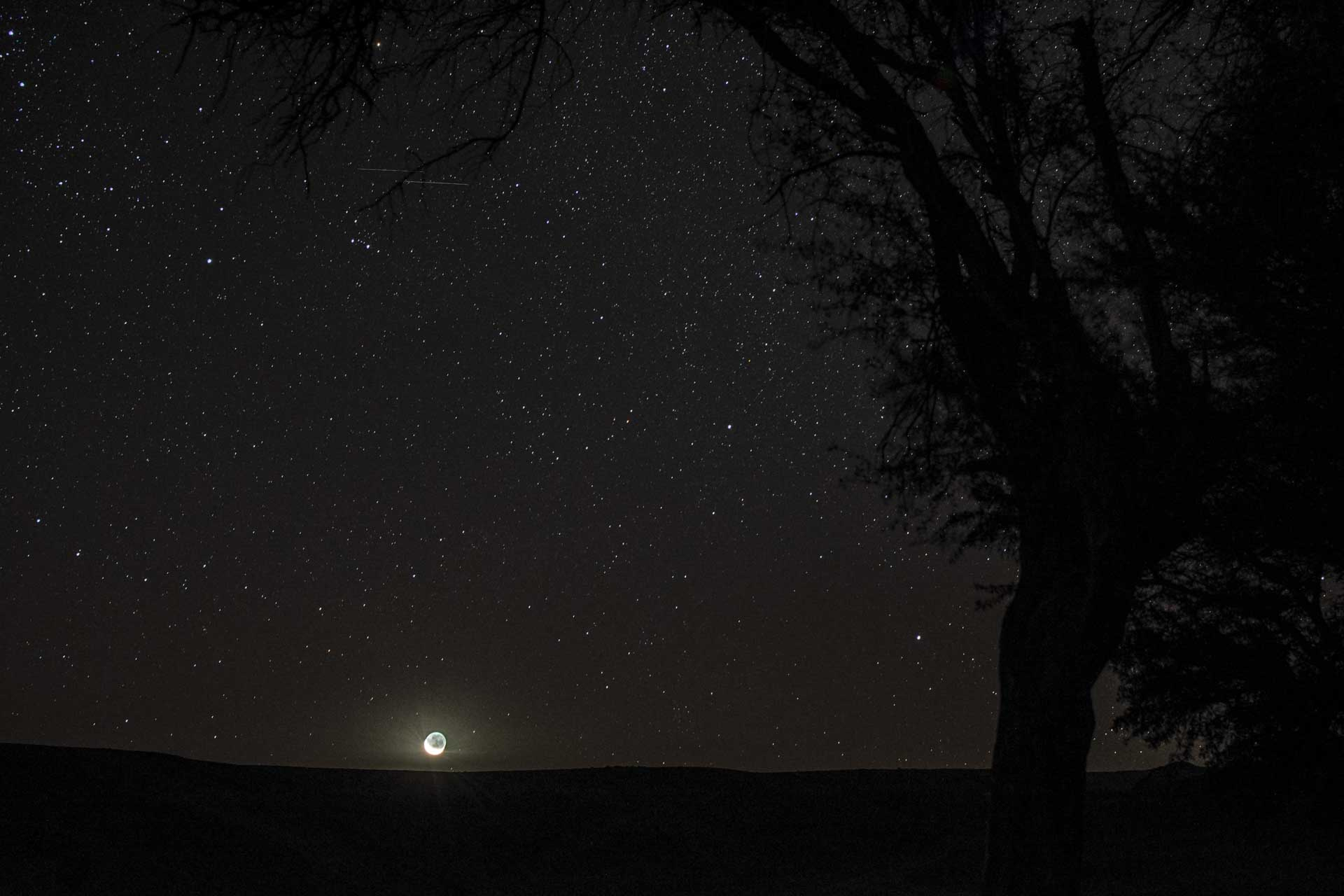 triangolo dell'esposizione fotografia astronomica