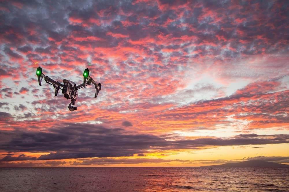 fotografare dall'alto senza drone