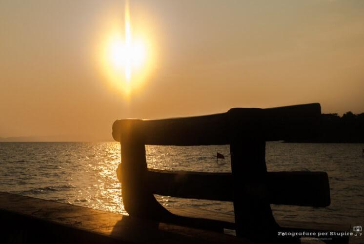 fotografare tramonti impostazioni