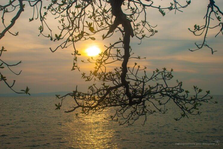 fotografare al tramonto