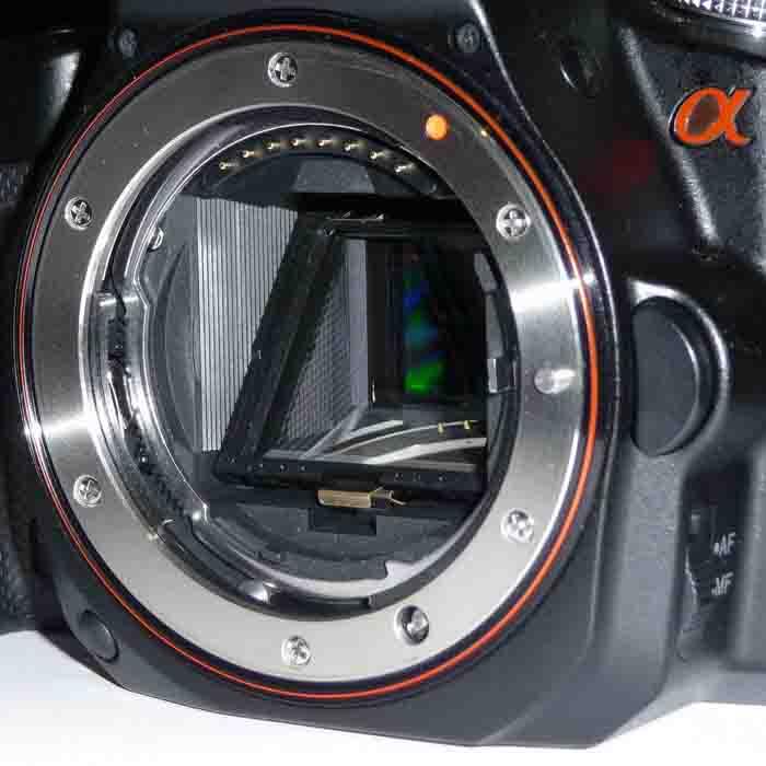 parti della macchina fotografica specchio