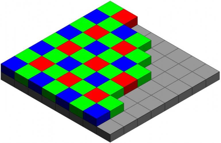stampare foto pixels