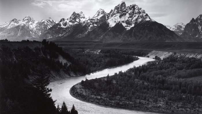 Fotografo americano famoso Ansel Adams