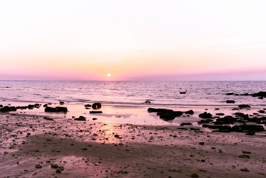 fotografare controluce tramonto