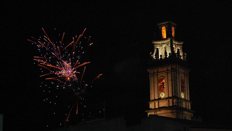 fotografare fuochi d'artificio tecnica