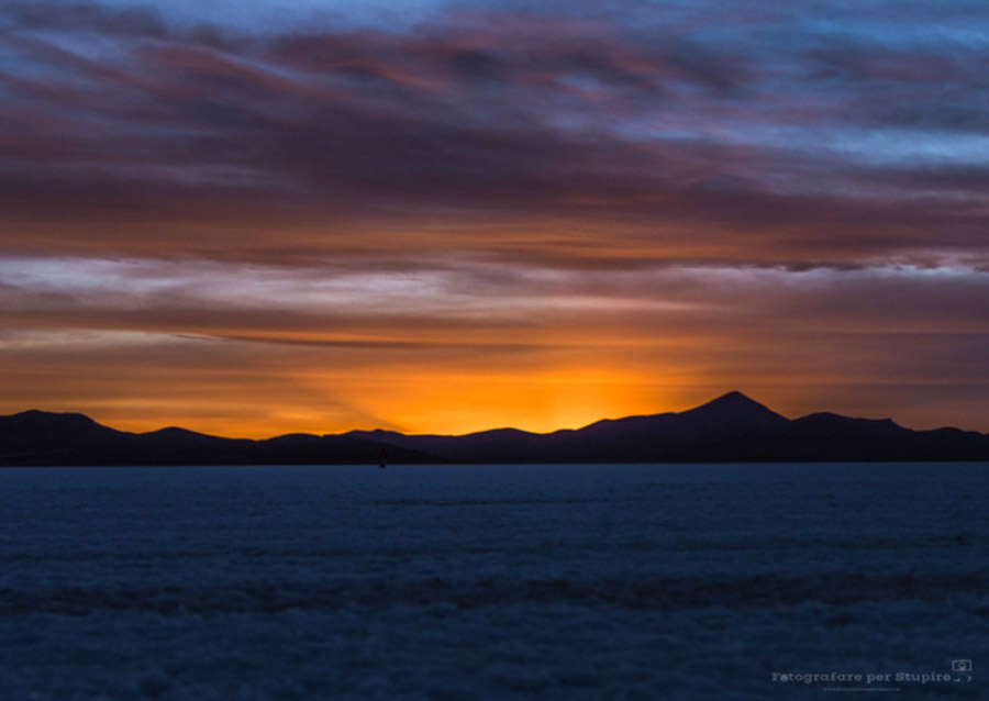 fotografare tramonti bolivia