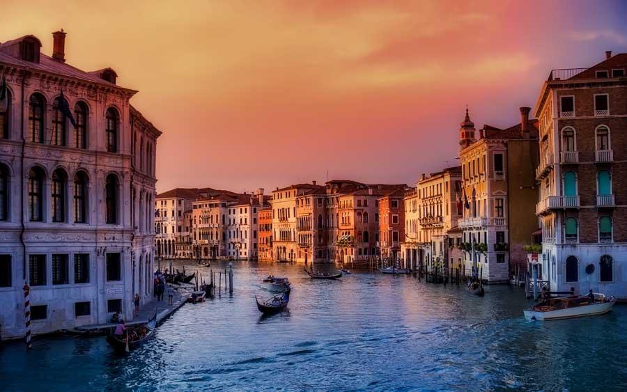 fotografare tramonti venezia