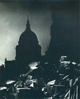 fotografi famosi paesaggi Brandt londra