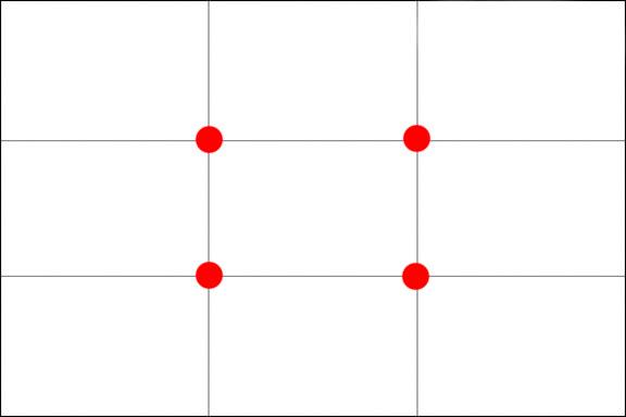 regole di composizione fotografica