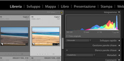 lightroom interfaccia guida