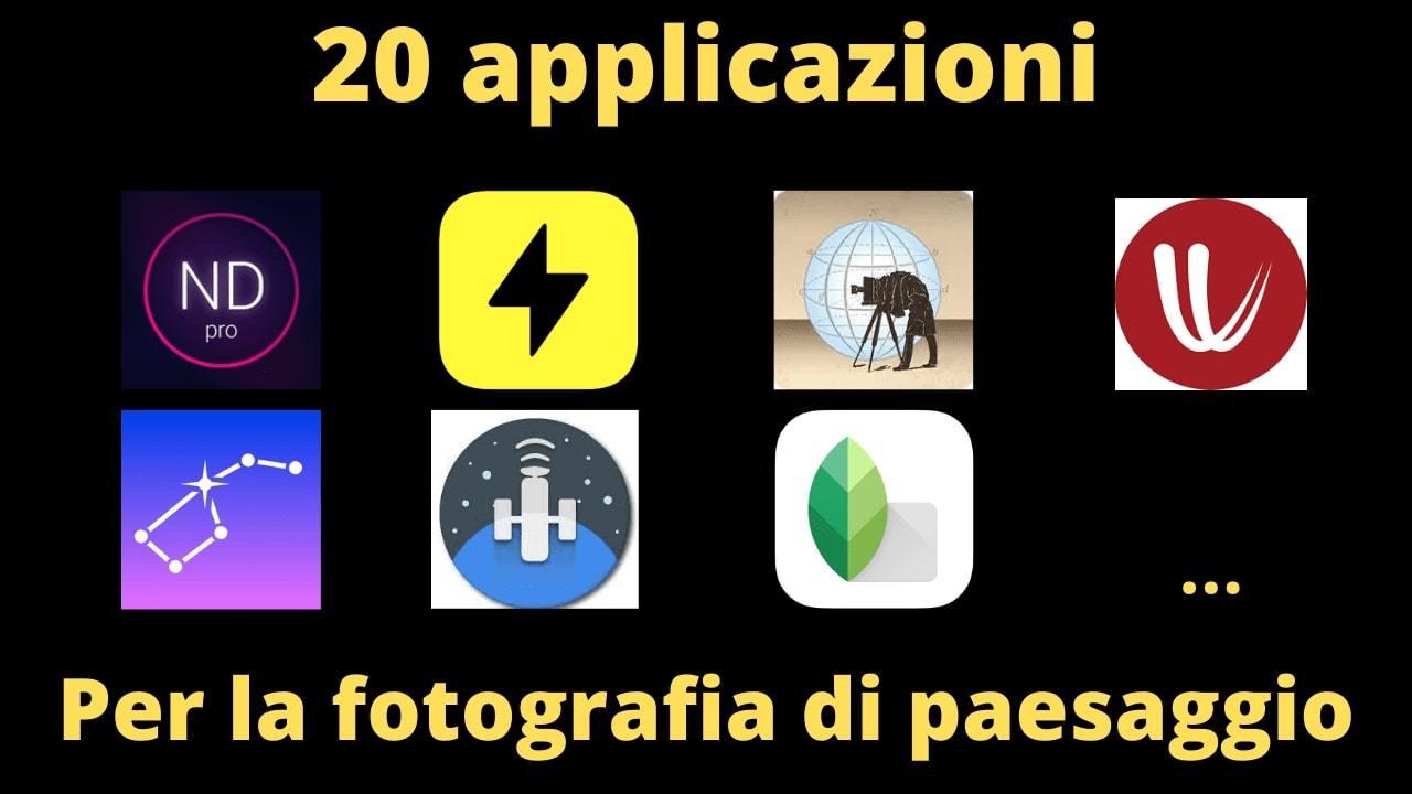 applicazioni foto