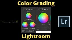 color grading lightroom